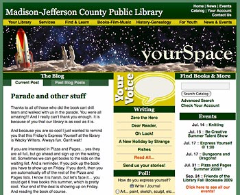 Your Space website